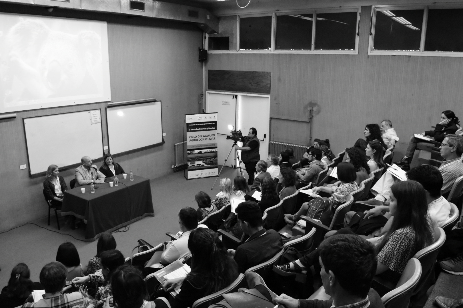 Sesión Especial del Comité Académico Aguas en las V Jornadas Interdisciplinarias del ciclo del Agua en Agroecosistemas.