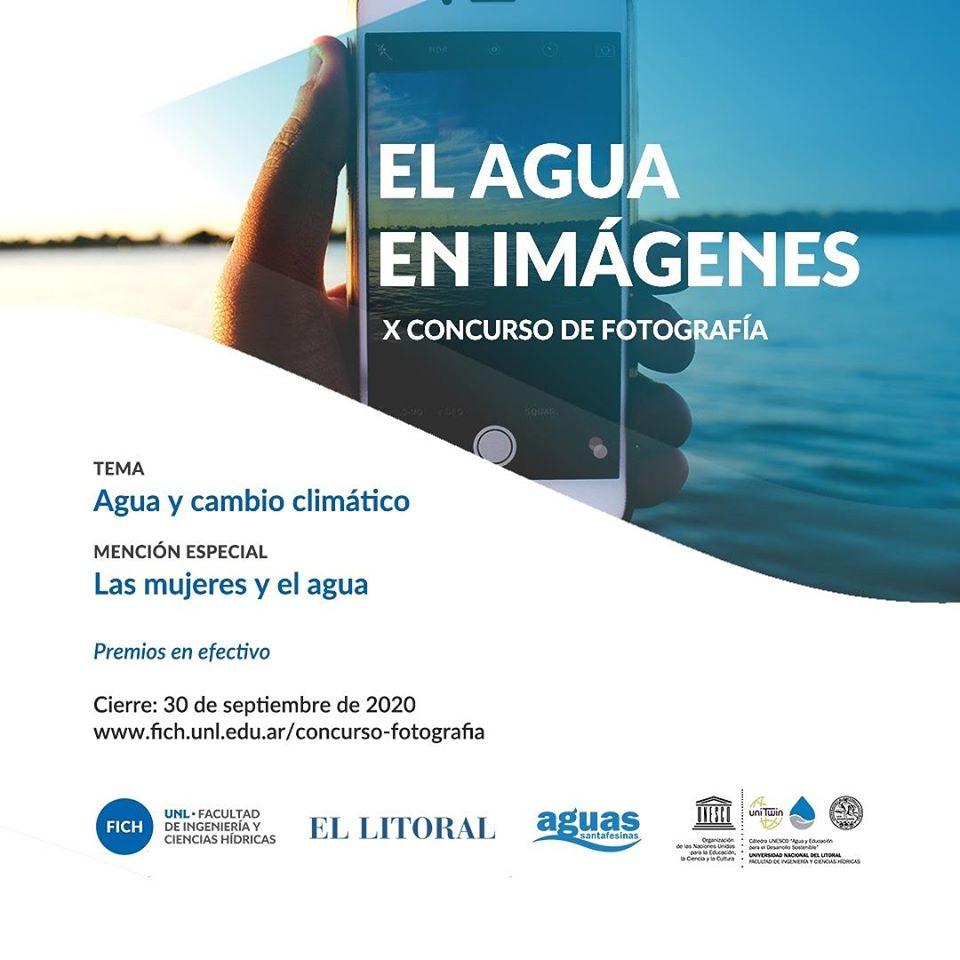 La Cátedra UNESCO invita a participar de una nueva edición de «El agua en imágenes»