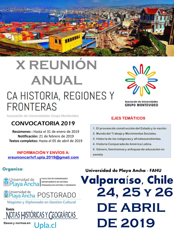 X Reunión Anual y Encuentro Académico Internacional