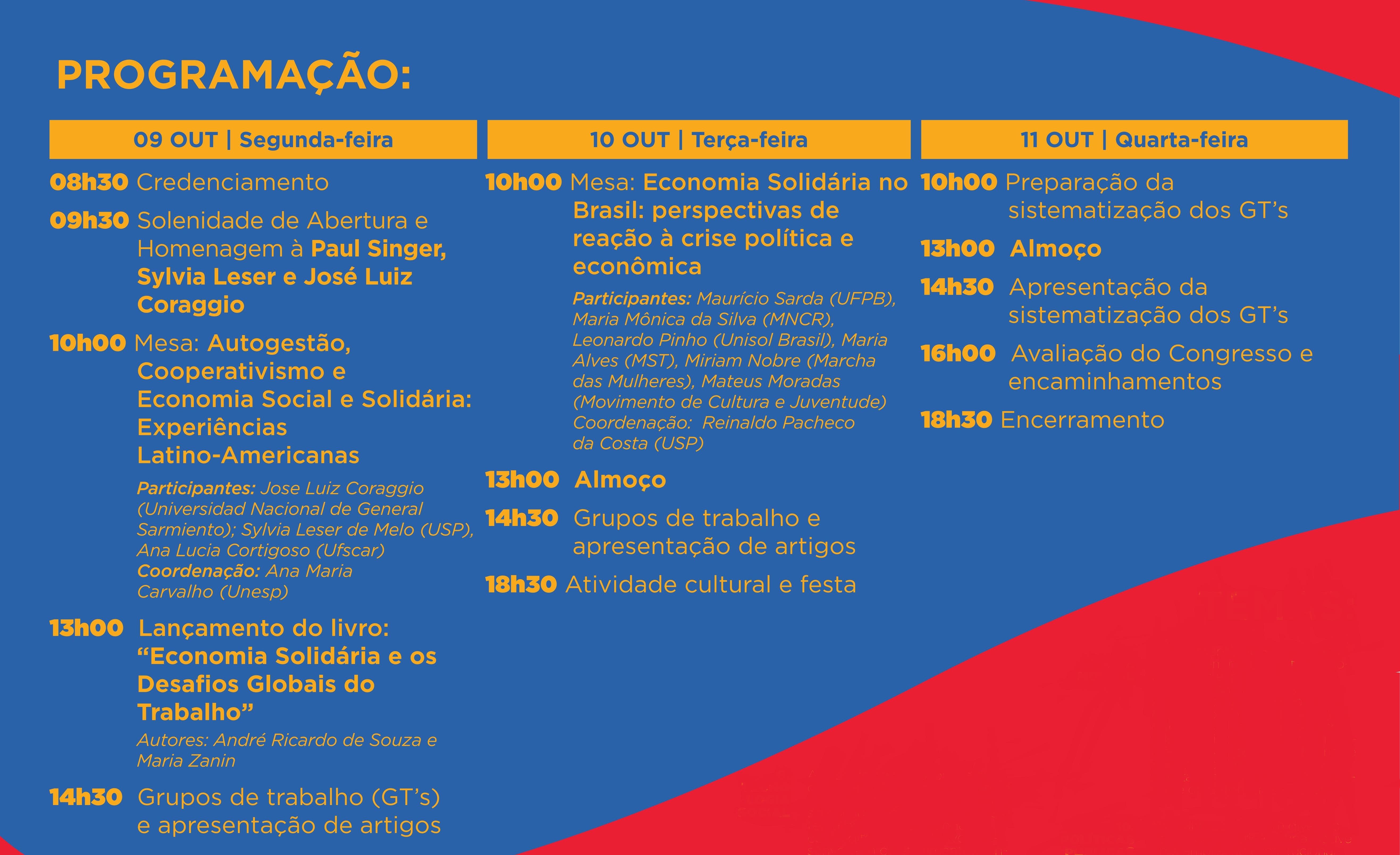 XIII Seminário Internacional PROCOAS