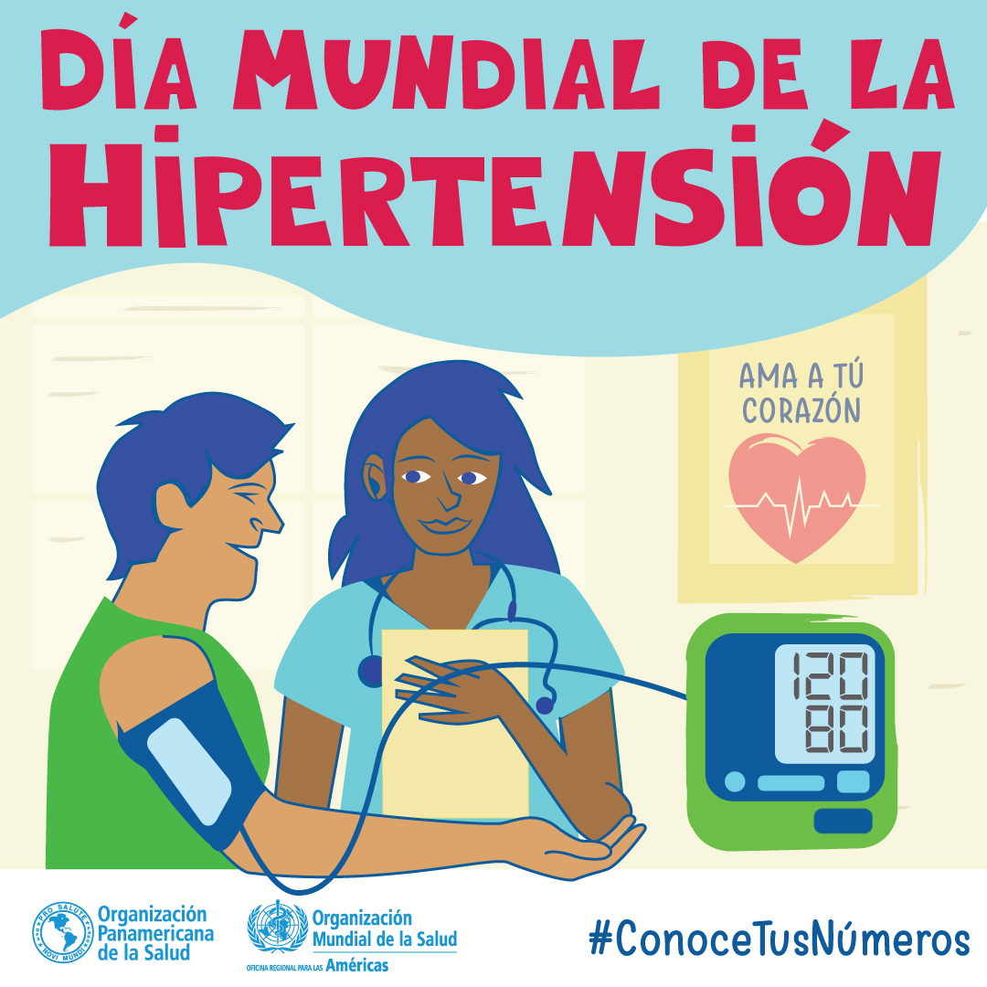 Día Mundial de la Hipertensión 2018. Conoce tus números